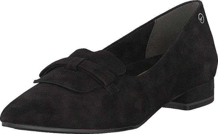 Tamaris 24200-001 Black, Kengät, Matalapohjaiset kengät, Loaferit, Musta, Naiset, 36