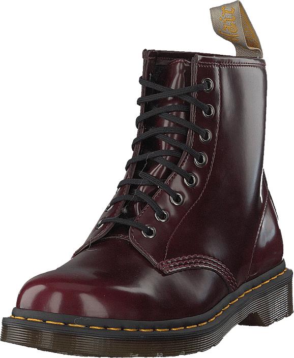 Dr Martens Vegan 1460 Cherry Red, Kengät, Bootsit, Korkeavartiset bootsit, Ruskea, Unisex, 44