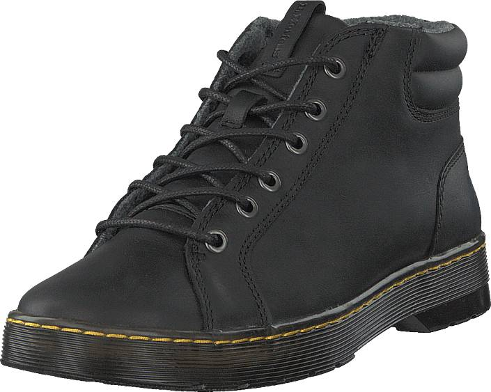Dr Martens Plaza Black, Kengät, Bootsit, Chukka boots, Harmaa, Musta, Miehet, 46