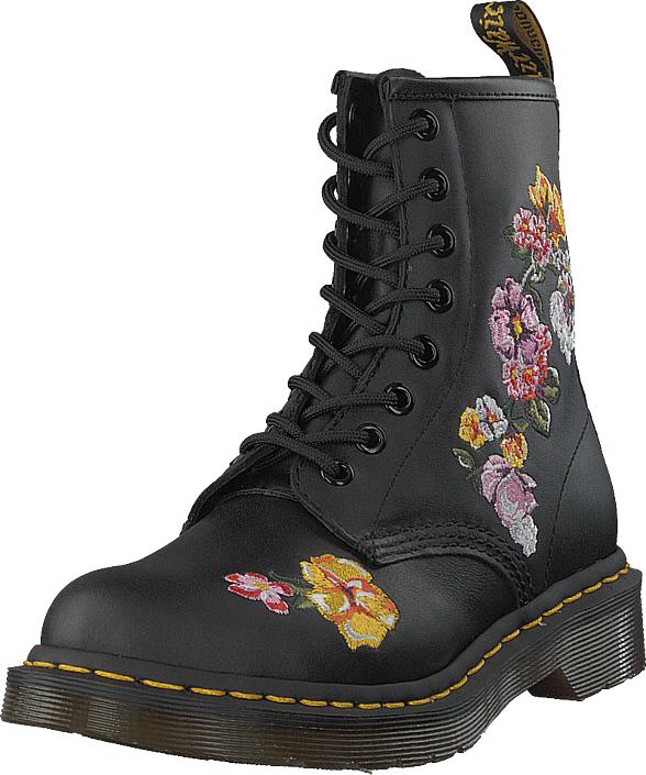 Dr Martens 1460 Finda Black, Kengät, Bootsit, Korkeavartiset bootsit, Musta, Naiset, 38
