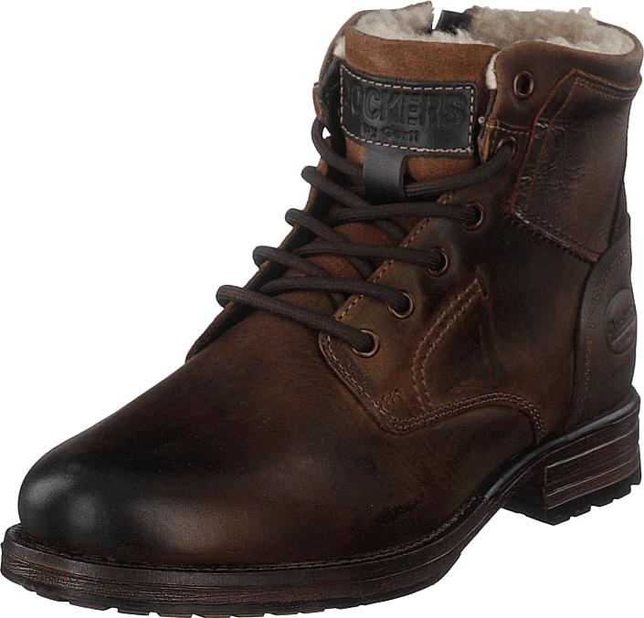 Dockers by Gerli 180443 Dark Brown, Kengät, Bootsit, Kengät, Ruskea, Miehet, 40