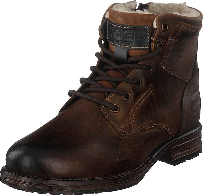 Dockers by Gerli 180443 Dark Brown, Kengät, Bootsit, Kengät, Ruskea, Miehet, 42
