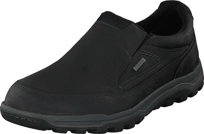 Rockport Tt Wp Slipon Black, Kengät, Matalapohjaiset kengät, Kävelykengät, Musta, Miehet, 46
