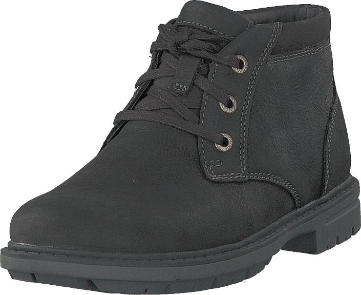 Rockport Tough Bucks Chukka Black, Kengät, Bootsit, Chukka boots, Harmaa, Musta, Miehet, 43