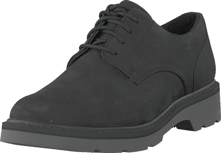 Rockport Charlee Plain Toe Black, Kengät, Matalapohjaiset kengät, Juhlakengät, Musta, Miehet, 41