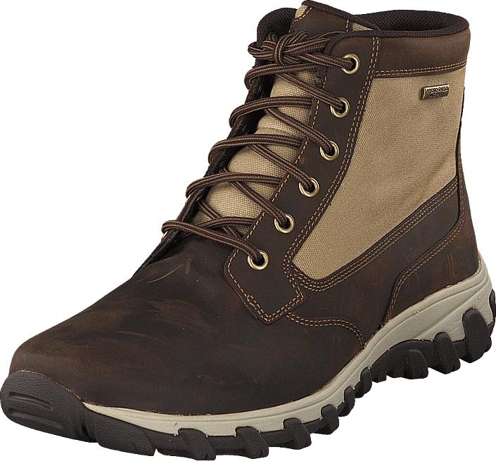 Rockport Csp Mid Boot Tan, Kengät, Bootsit, Kengät, Ruskea, Miehet, 40