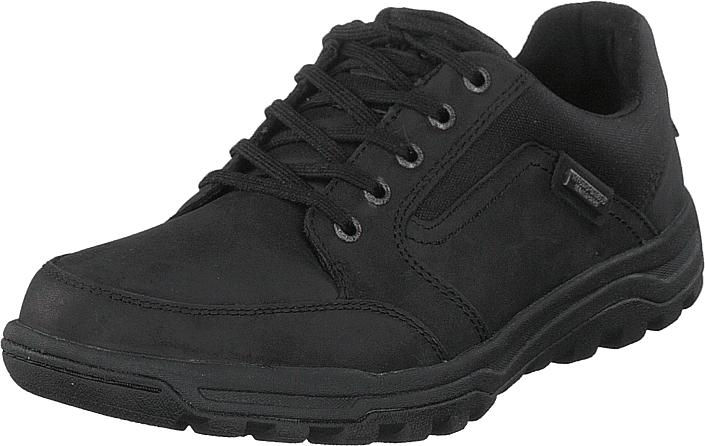 Rockport Harlee Lace To Toe Black, Kengät, Sneakerit ja urheilukengät, Sneakerit, Musta, Miehet, 42