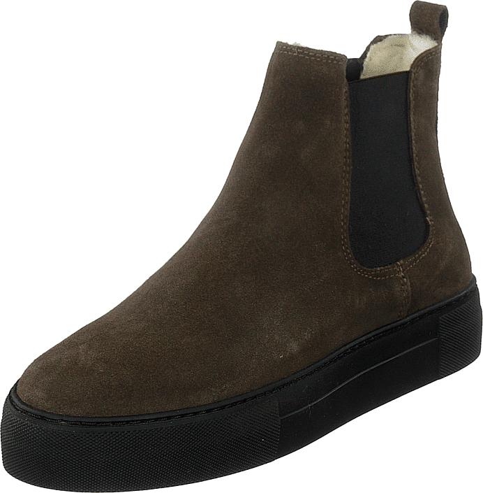 Shepherd Amber Olive, Kengät, Bootsit, Chelsea boots, Ruskea, Naiset, 37