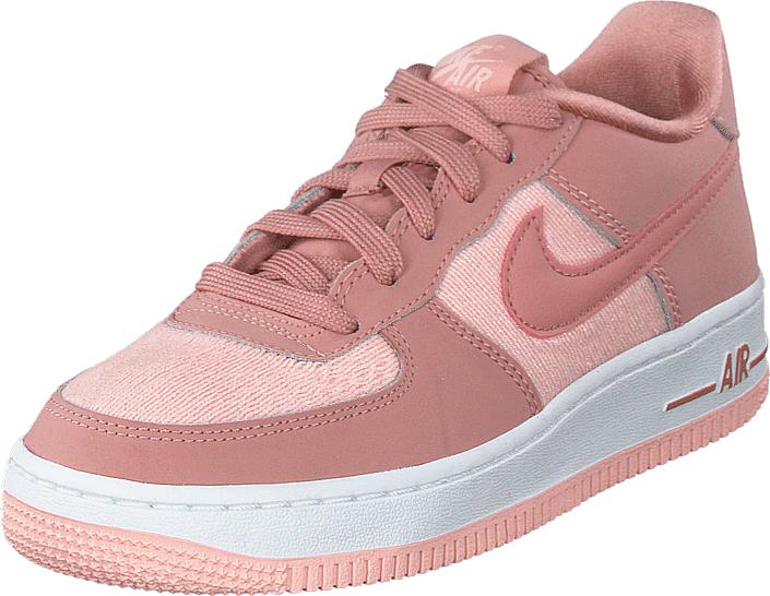 Nike Air Force 1 Lv8 Gg Rust Pink/rust Pink-storm Pink, Kengät, Sneakerit ja urheilukengät, Sneakerit, Vaaleanpunainen, Unisex, 35