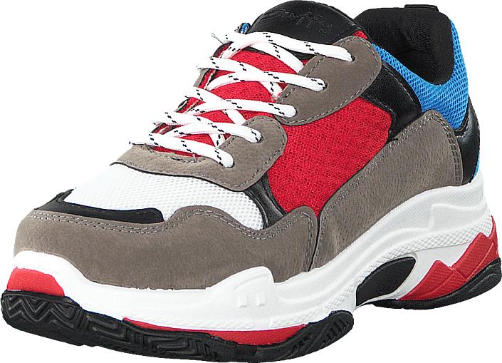 Duffy 71-06801 Red, Kengät, Sneakerit ja urheilukengät, Sneakerit, Ruskea, Naiset, 40