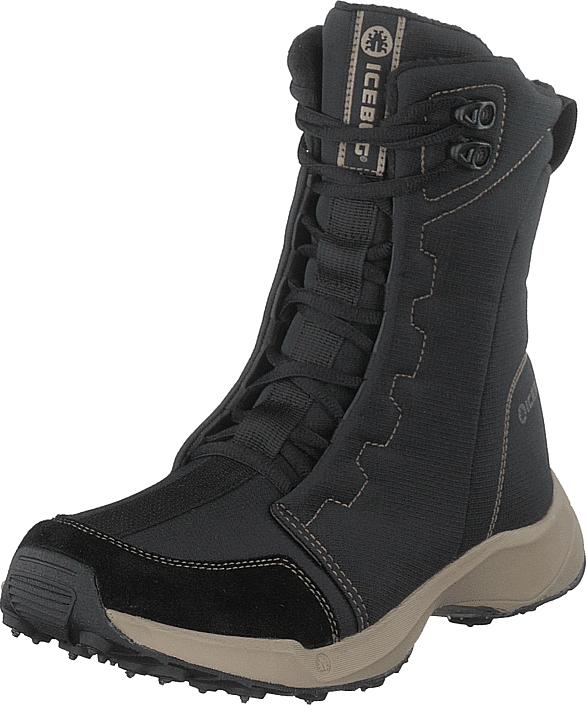Icebug Avila3 W Bugrip® Black/almond, Kengät, Bootsit, Lämminvuoriset kengät, Musta, Naiset, 39