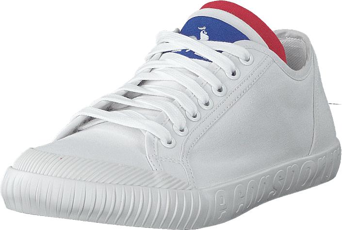 Le Coq Sportif National Canvas Optical White, Kengät, Sneakerit ja urheilukengät, Varrettomat tennarit, Valkoinen, Unisex, 46