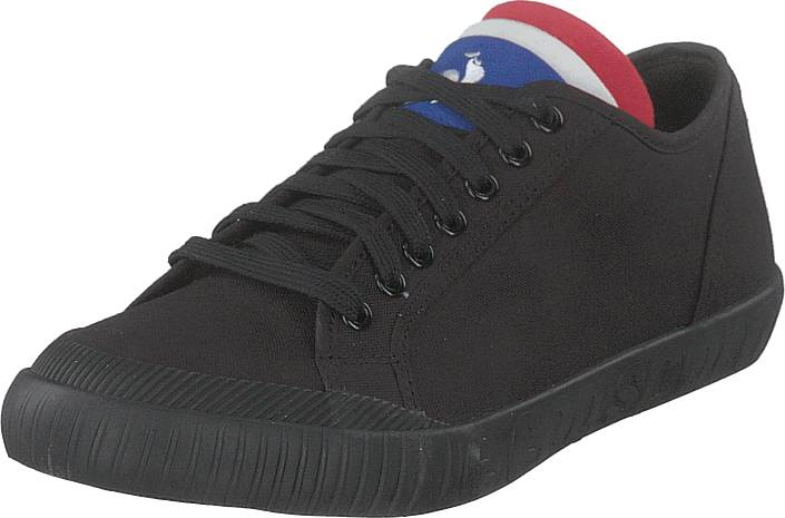 Le Coq Sportif National Canvas Triple Black, Kengät, Sneakerit ja urheilukengät, Sneakerit, Musta, Unisex, 45
