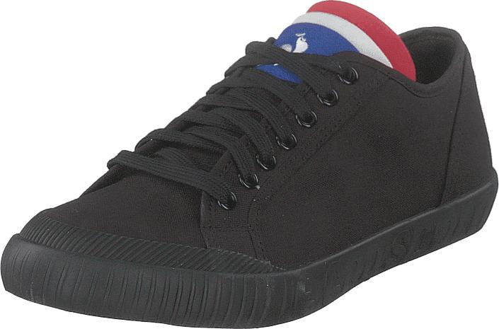 Le Coq Sportif National Canvas Triple Black, Kengät, Sneakerit ja urheilukengät, Sneakerit, Musta, Unisex, 43