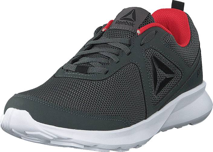 Reebok Reebok Quick Motion Grey/black/red/white, Kengät, Sneakerit ja urheilukengät, Urheilukengät, Harmaa, Musta, Miehet, 45