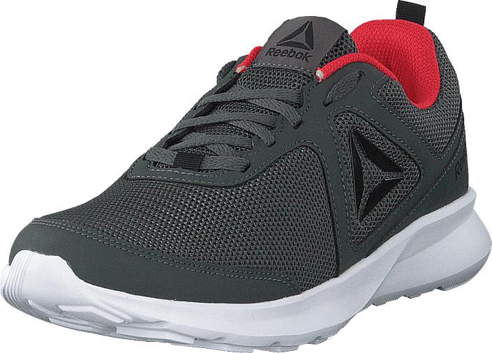 Reebok Reebok Quick Motion Grey/black/red/white, Kengät, Sneakerit ja urheilukengät, Urheilukengät, Harmaa, Musta, Miehet, 44