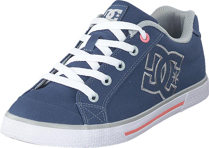 DC Shoes Chelsea Tx Blue/grey, Kengät, Sneakerit ja urheilukengät, Varrettomat tennarit, Sininen, Naiset, 41