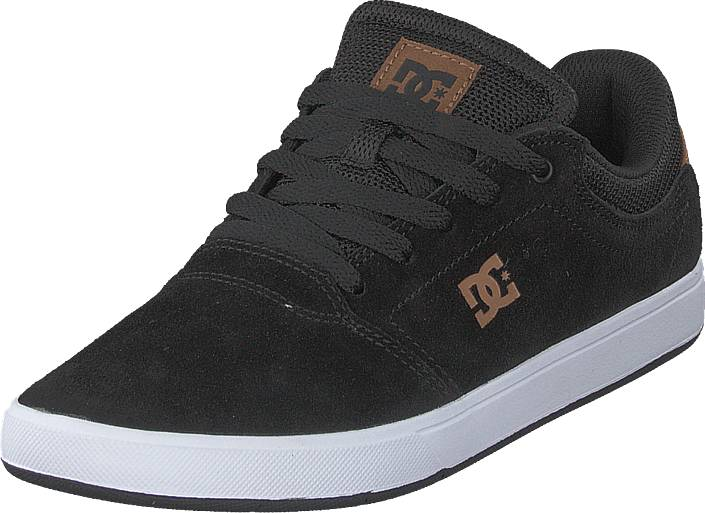 DC Shoes Crisis Black/brown/black, Kengät, Sneakerit ja urheilukengät, Varrettomat tennarit, Ruskea, Miehet, 42