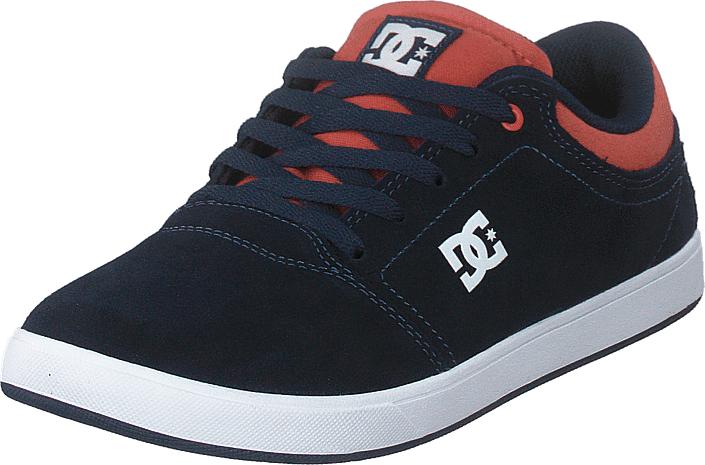 DC Shoes Crisis Indigo, Kengät, Sneakerit ja urheilukengät, Varrettomat tennarit, Musta, Unisex, 36
