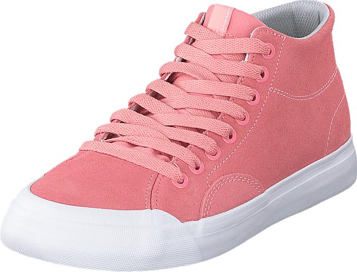 DC Shoes Evan Hi Zero Se Pink, Kengät, Sneakerit ja urheilukengät, Korkeavartiset tennarit, Vaaleanpunainen, Naiset, 37