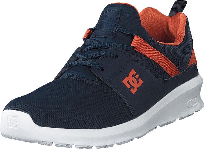 DC Shoes Heathrow Indigo, Kengät, Sneakerit ja urheilukengät, Sneakerit, Sininen, Unisex, 36