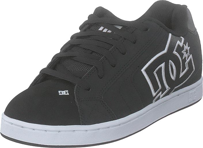 DC Shoes Net Black/black/white, Kengät, Sneakerit ja urheilukengät, Chukka Sneakerit, Musta, Miehet, 41