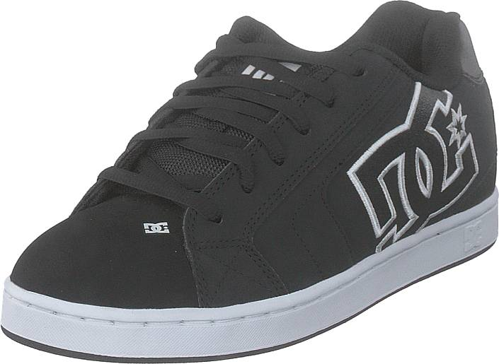 DC Shoes Net Black/black/white, Kengät, Sneakerit ja urheilukengät, Chukka Sneakerit, Musta, Miehet, 40