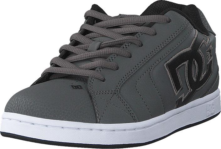 DC Shoes Net Grey/black/grey, Kengät, Sneakerit ja urheilukengät, Sneakerit, Harmaa, Miehet, 41