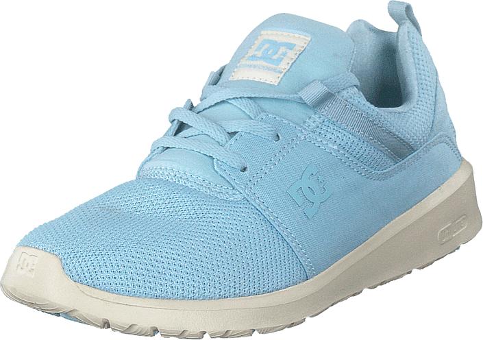 DC Shoes Heathrow Light Blue, Kengät, Sneakerit ja urheilukengät, Sneakerit, Turkoosi, Sininen, Naiset, 41