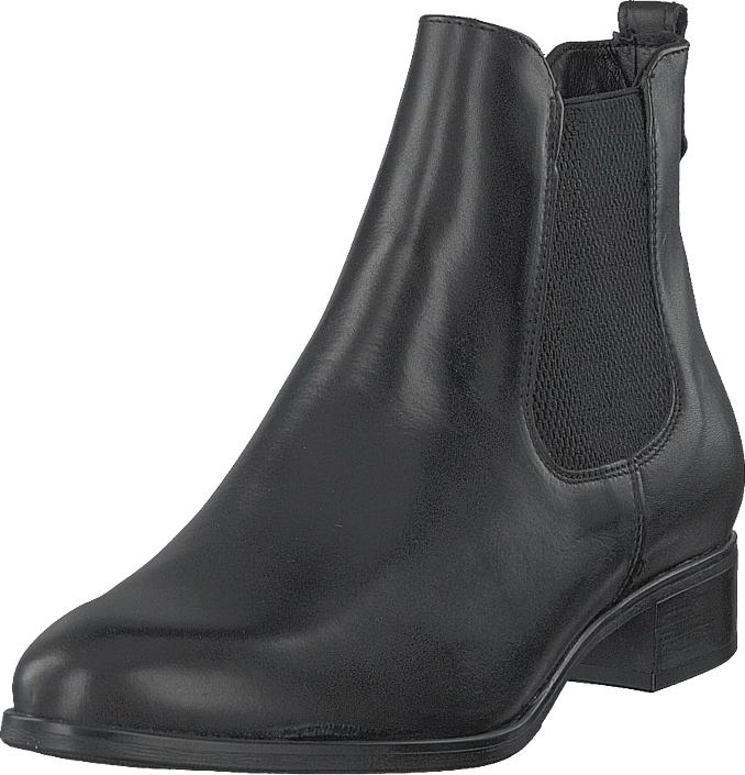 Tamaris 1-25388-21-003 Black, Kengät, Bootsit, Chelsea boots, Harmaa, Naiset, 37