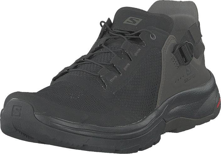 Salomon Techamphibian 4 Black/beluga/castor Gray, Kengät, Sneakerit ja urheilukengät, Tennarit , Harmaa, Musta, Miehet, 43