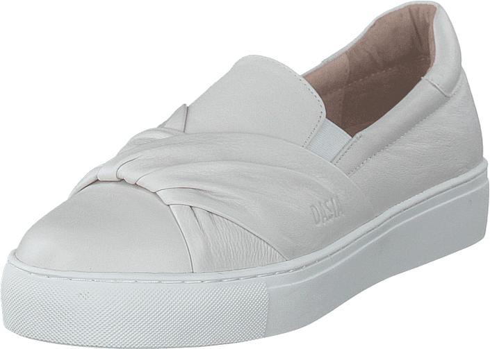 Dasia Starlily Toe Strap White, Kengät, Matalapohjaiset kengät, Slip on, Valkoinen, Naiset, 42