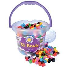 Micki XL Beads - helmisanko 950 - sekoitus perusvärejä