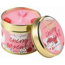 Bomb Cosmetics Tin Candle Cherry Bakewell - Cherry Berry