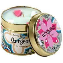Bomb Cosmetics Tin Candle Gorgeous - Hi Sweetie!
