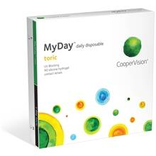 Cooper Vision MyDay Daily Disposable 90p