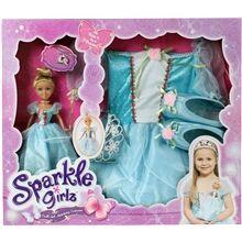 Sparkle Girlz Princess -nukke ja mekko 1 set