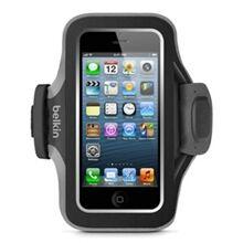 Belkin Neoprene Slim Fit armband iPhone 5 Musta