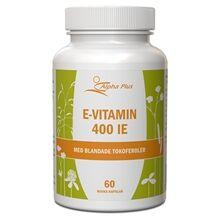 Alpha plus E-vitamin 400IE 60 kapselia