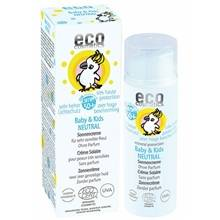 eco cosmetics solkräm baby neutral spf 50 50 ml