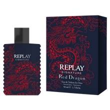 Replay Signature Red Dragon for Him - Edt 50 ml