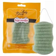 Lady Green Body Konjac Sponge Aloe Vera