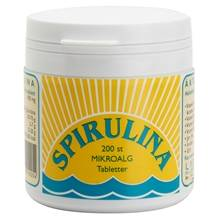 Lindroos Spirulina tabl 200 tablettia