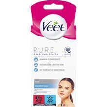 Veet Face Wax Strips Essential Inspirations 20 kpl/paketti