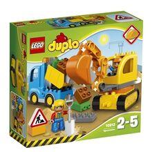 Lego 10812 LEGO DUPLO Kuorma-auto ja kaivinkone