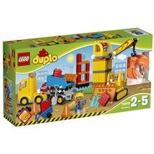 Lego 10813 LEGO DUPLO Suuri rakennustyömaa