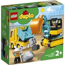Lego 10931  Duplo Town Kuorma-auto ja telakaivuri