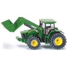 Siku Traktori etukuormaimella John Deere 1:50
