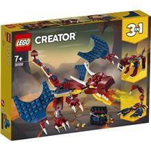 Lego 31102  Creator Tulilohikäärme