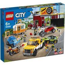 Lego 60258  City Turbo Wheels autokorjaamo